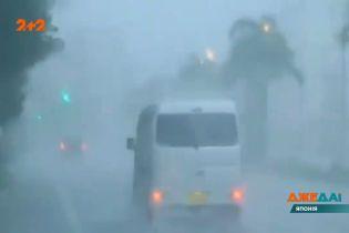 Катастрофа в Японии: в стране бушует мощный тайфун