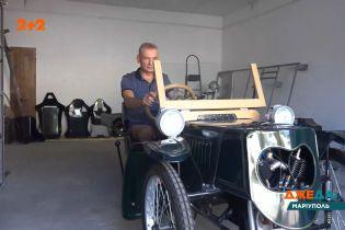 В Мариуполе нашли копию легендарного электромобиля из прошлого