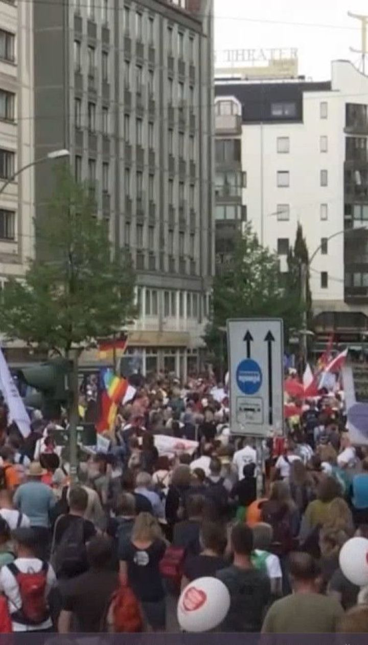 """Прокуратура Берлина постановила, что название """"ковидиот"""" - это не оскорбление, а свобода мысли"""