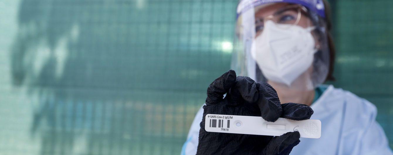 В Україні різко зросла кількість нових випадків коронавірусу: за добу інфікувалися майже 2 тисячі