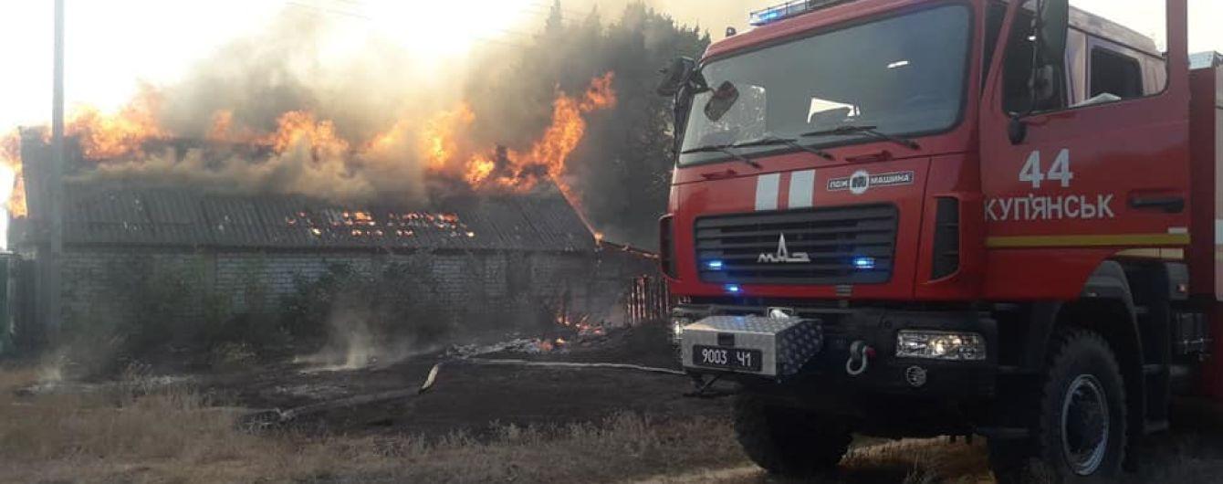 У Харківській області палає ліс: одна людина постраждала, 33 відселено, вогонь знищив село та сотні гектарів лісу