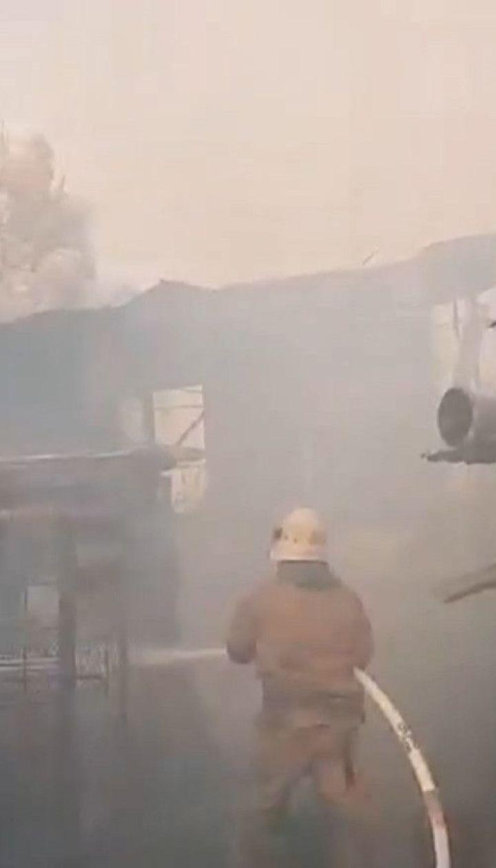 Одна людина загинула, ще двох бійців шпиталізували - наслідки пожежі у Луганській області
