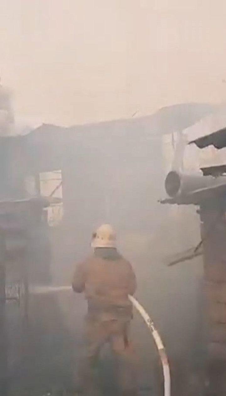 Один человек погиб, еще двое бойцов госпитализированы - последствия пожара в Луганской области