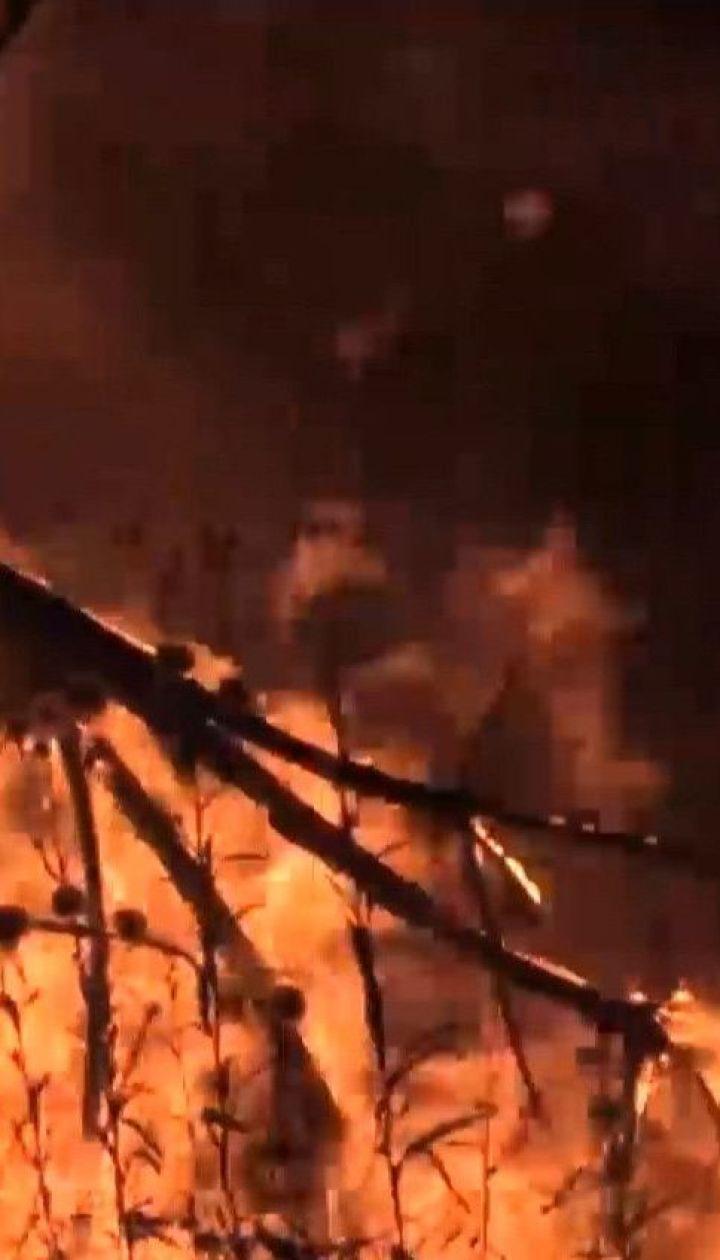 Пожары в Луганской области: один человек погиб, еще двое - госпитализированы с ожогами