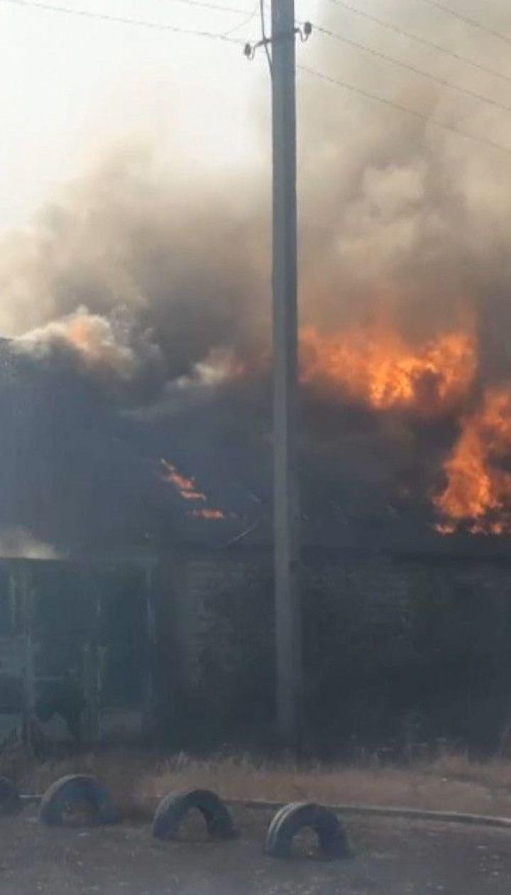 У Харківській області пожежникам вдалося локалізувати неконтрольоване полум'я