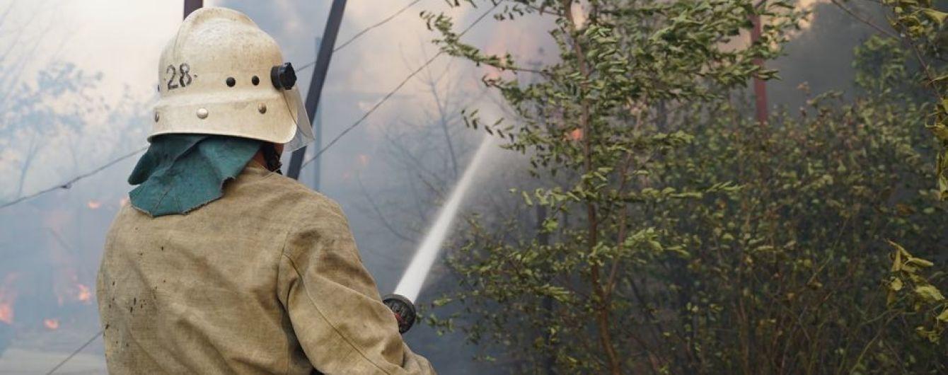 Пожар в Луганской области: военный, который гасил огонь, пропал без вести