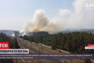 У Харківській області вдалося локалізувати лісові пожежі