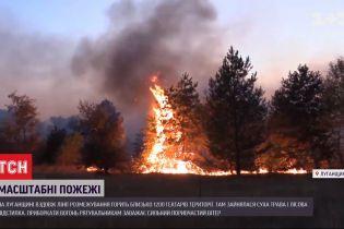 У пожежі в Луганській області загинув український військовий
