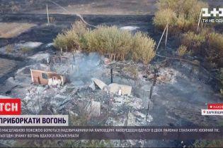 ТСН узнала подробности пожаров в Харьковской области