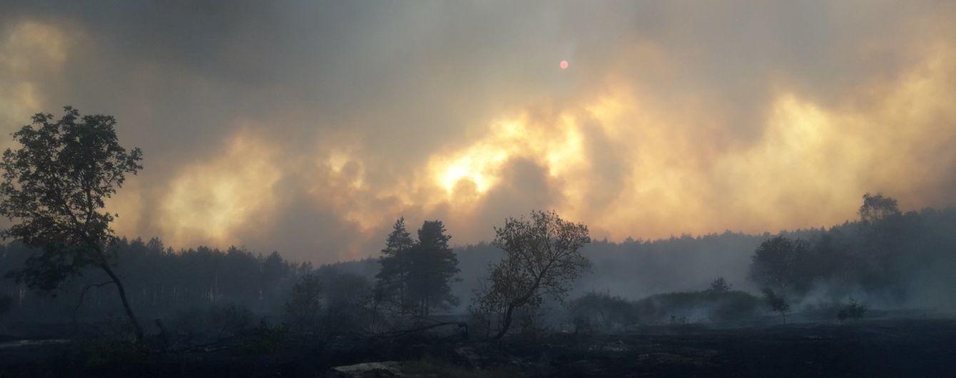 Пожежі у Харківській та Луганській областях: вогонь вдалося приборкати, гасіння осередків тління триває