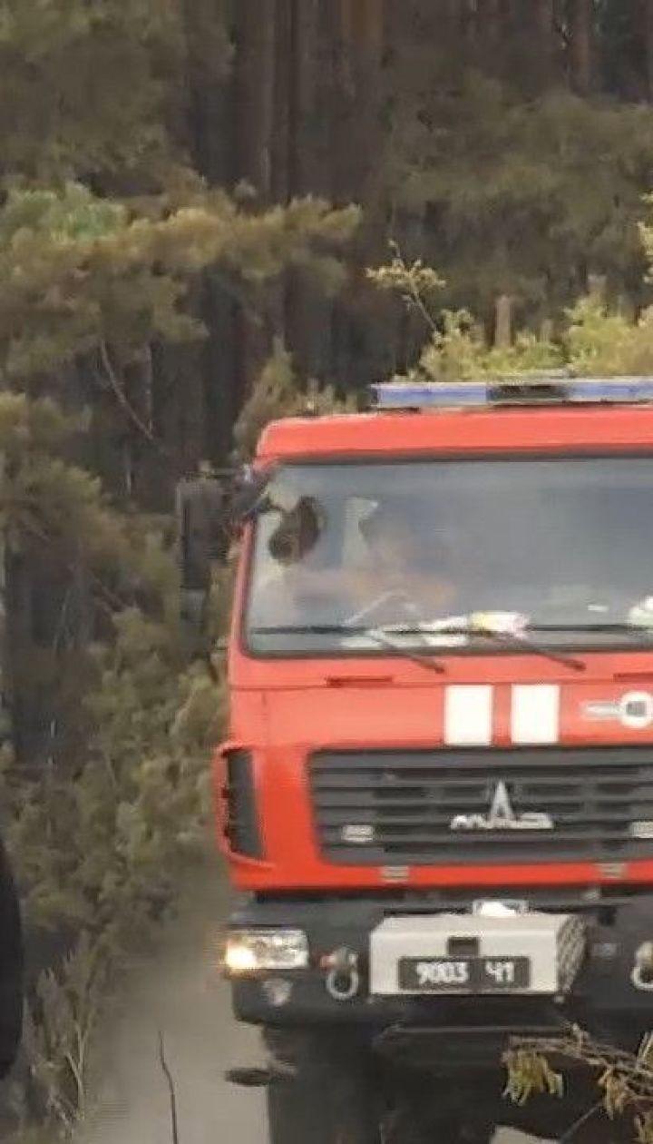 Пожежу у Харківській області не вдалося ліквідувати