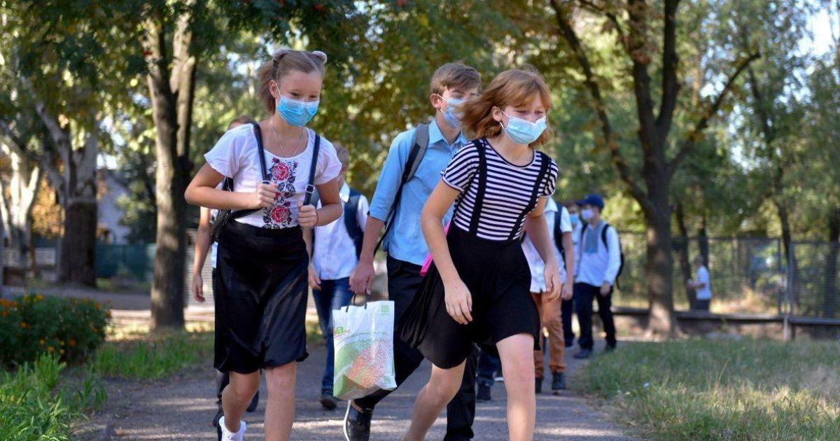 Образование под открытым небом: как украинские школьники учатся на свежем воздухе