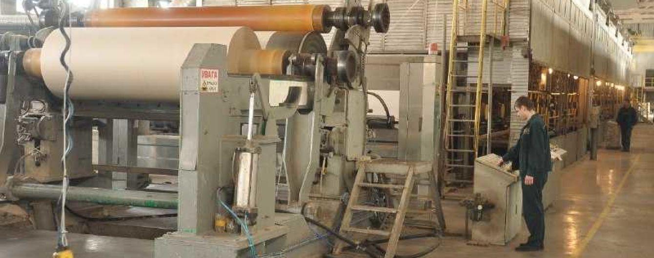 29 млн грн на экологию. Понинковская картонно-бумажная фабрика проводит масштабное переоснащение очистных сооружений