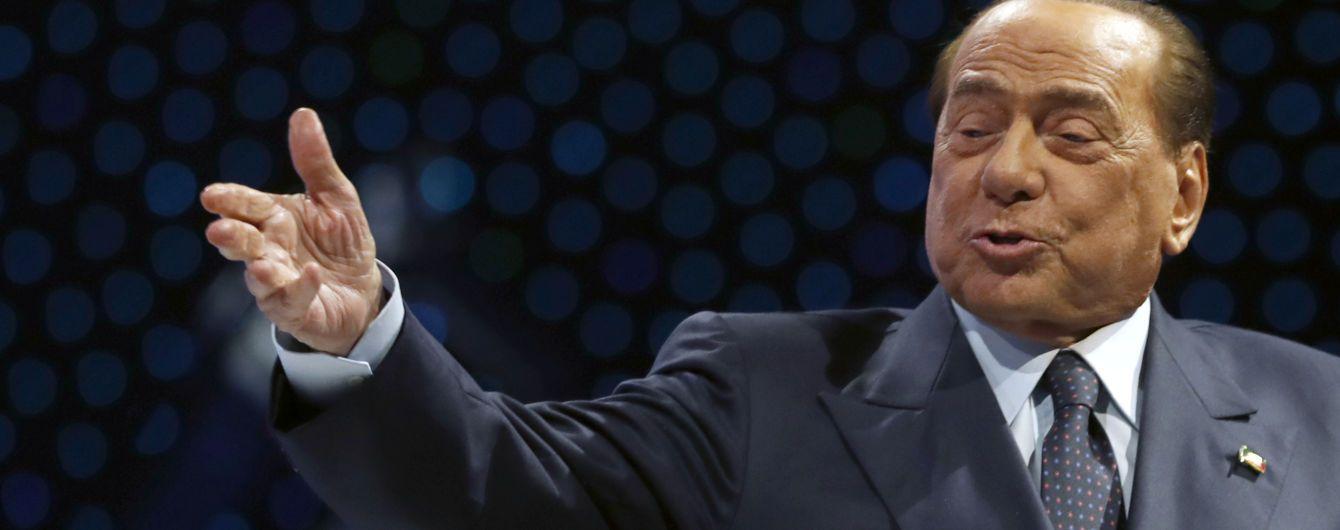 Експрем'єр Італії Берлусконі потрапив до лікарні з коронавірусом