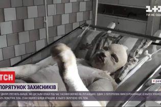 Двоє військових дістали тяжкі опіки під час гасіння пожеж у Луганській області