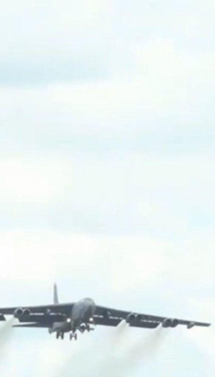 Стратегічні ядерні бомбардувальники США зафіксували у небі над Україною
