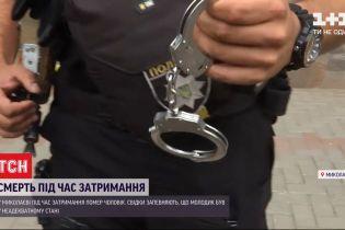 У Миколаєві під час затримання чоловіку стало зле і він помер