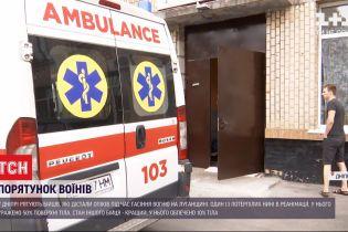 Двое военных оказались в больнице с тяжелыми ожогами после тушения пожаров в Луганской области
