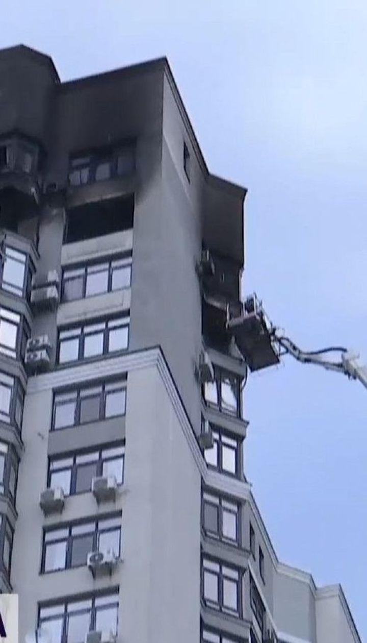 Мужчина, который выпрыгнул на кондиционер с горящей квартиры на 24-м этаже, в реанимации