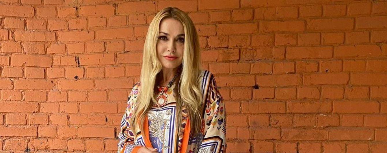 В пижаме для города: Ольга Сумская похвасталась стильным нарядом