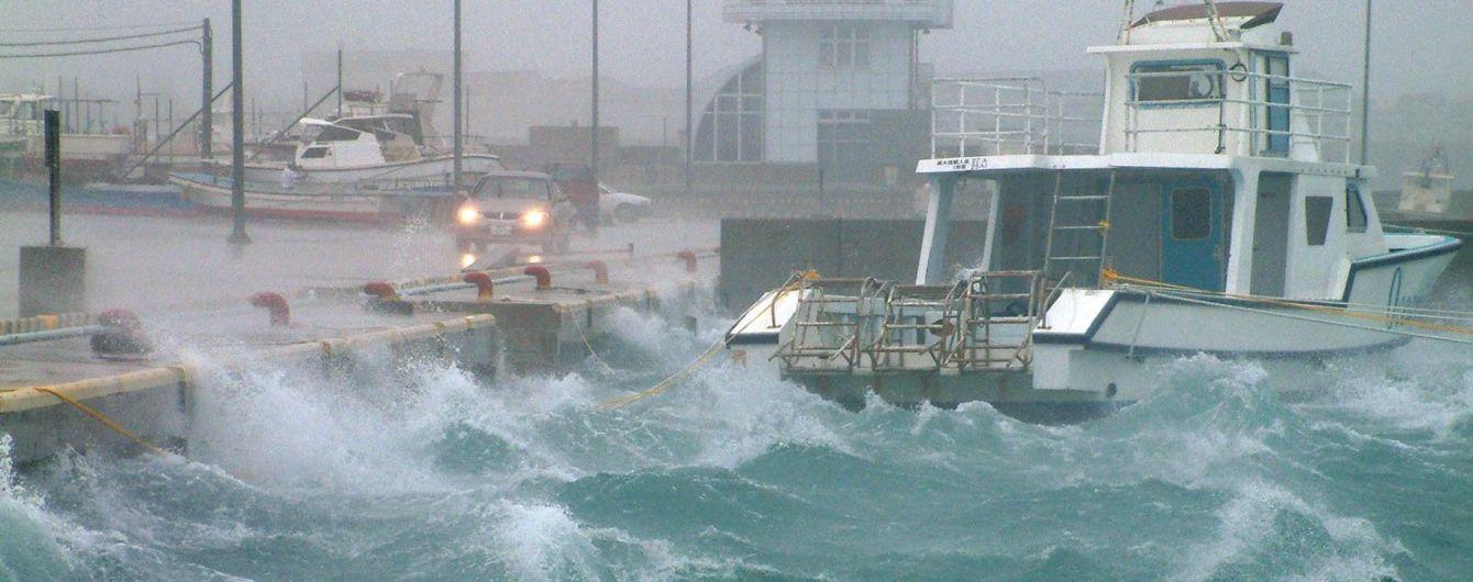 Из-за нового тайфуна возле берегов Японии приостановили поиск судна с экипажем и почти 6 тысячами коров