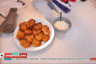 Деруни з баклажанів та кабачків – рецепт Валентини Хамайко