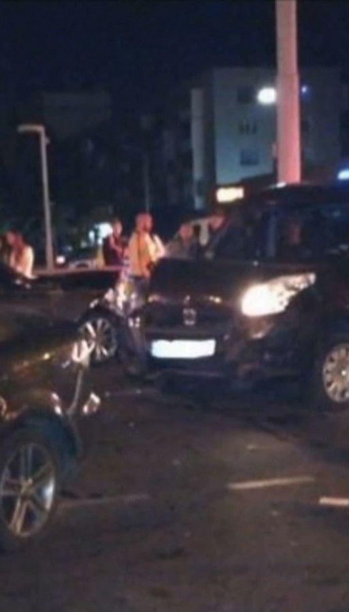Потрійна ДТП: у Вінниці внаслідок автотрощі постраждали троє чоловіків