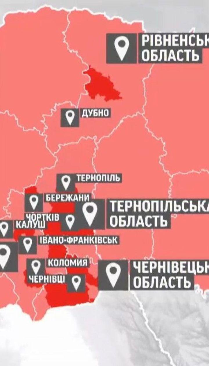 В Украине начинают действовать новые карантинные зоны