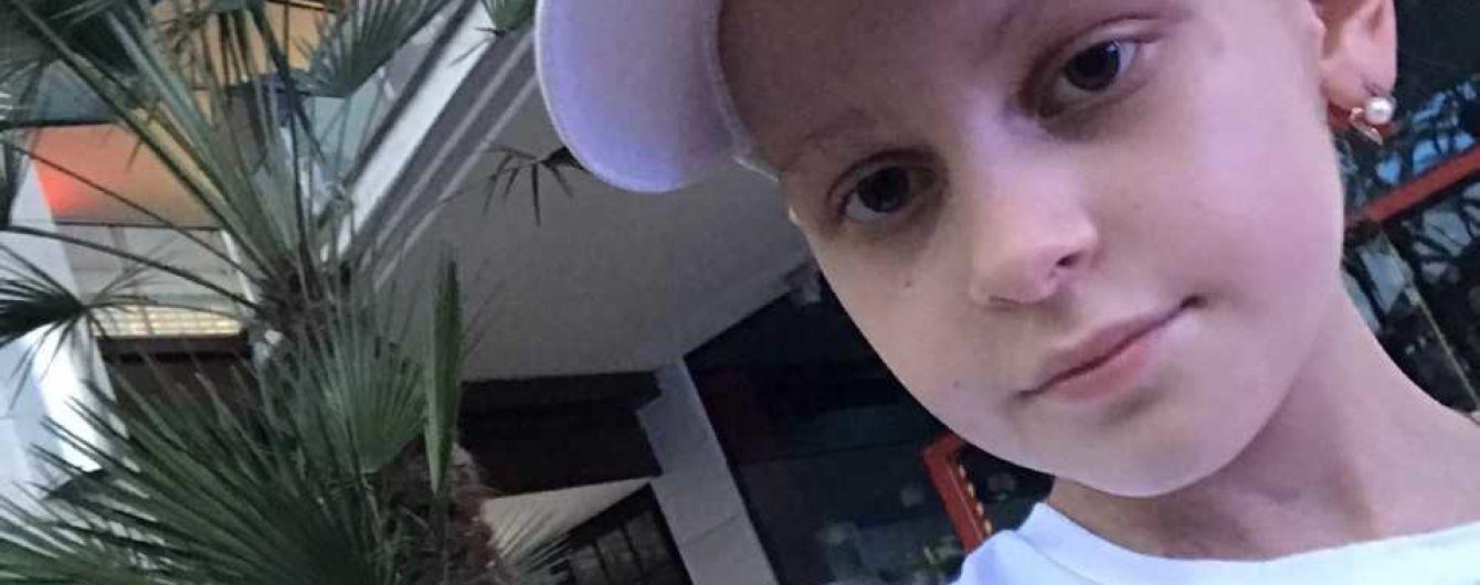 Майже 100 тисяч євро потрібні на порятунок життя Вікторії