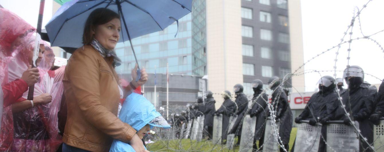В Беларуси на митинге задержали 12-летнего мальчика