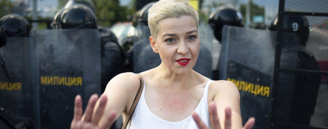 В Беларуси арестовали Марию Колесникову и поместили в СИЗО