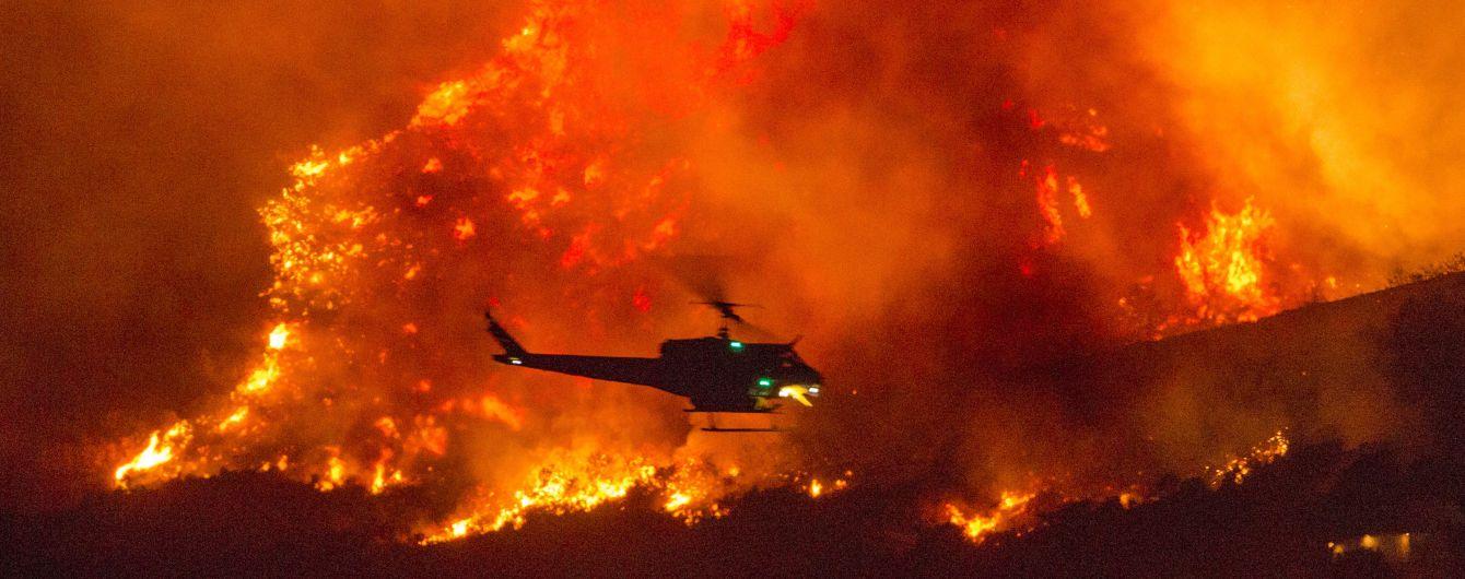 Рекордные пожары в США: 38 миллионов человек получили предупреждения об эвакуации