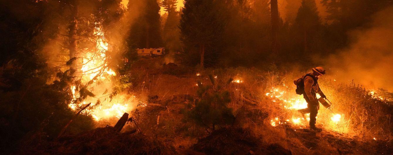 Пожежі у Каліфорнії сягнули рекордних масштабів