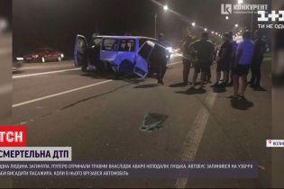 Смертельна ДТП біля Луцька: загинула одна жінка