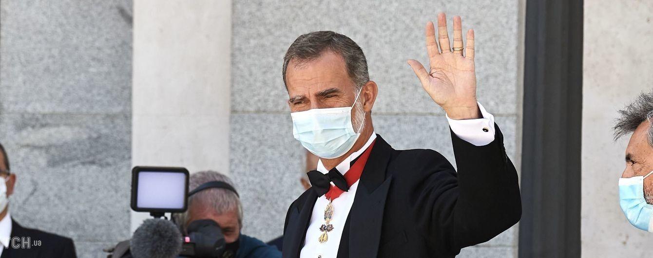 Ах, який красень: іспанський король Філіп VI у фраку приїхав на захід в Мадриді
