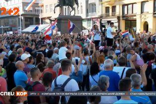 В Европе набирают оборотов протесты против карантина