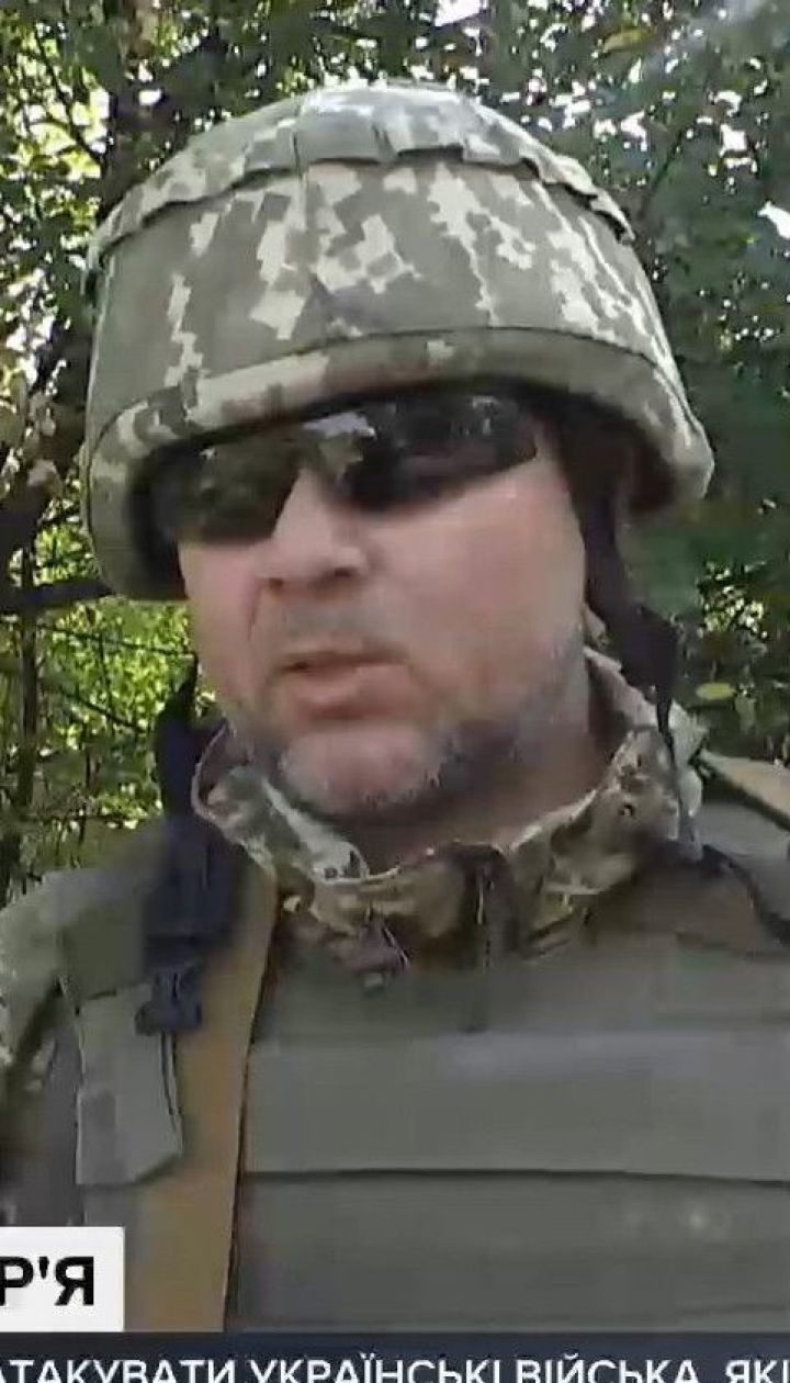 Российские оккупанты требуют, чтобы украинские военные отошли с позиций вблизи города Шумы