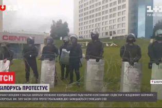Білоруська опозиція вимагає звільнити викрадену вранці активістку