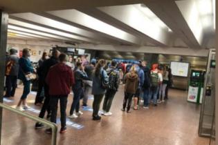 В Киевском метрополитене объяснили причину масштабного сбоя