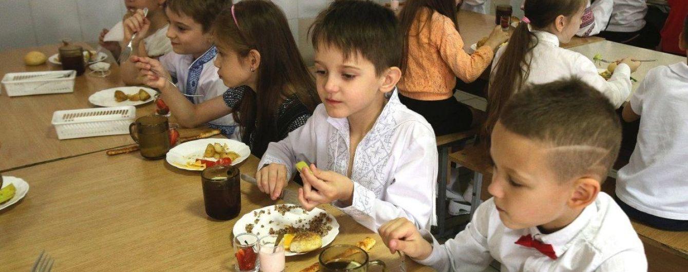 В МОН отреагировали на скандальные завтраки киевских школьников и просят родителей и детей потерпеть