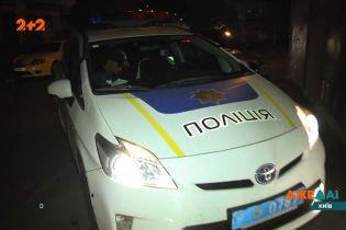 Ночью в Киеве патрульные задержали пьяного водителя