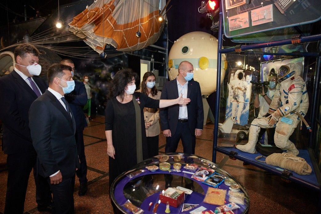Зеленський у житомирському Музеї космонавтики