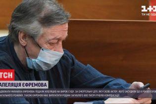 Адвокаты Ефремова подали апелляцию на обвинительный приговор суда