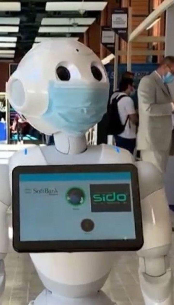 Во Франции роботы будут следить за тем, правильно ли люди носят маски