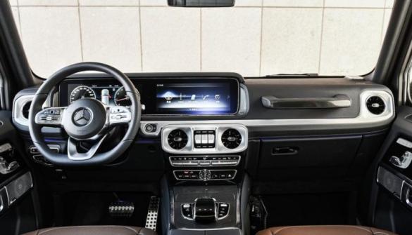 Mercedes-Benz G-Class, салон