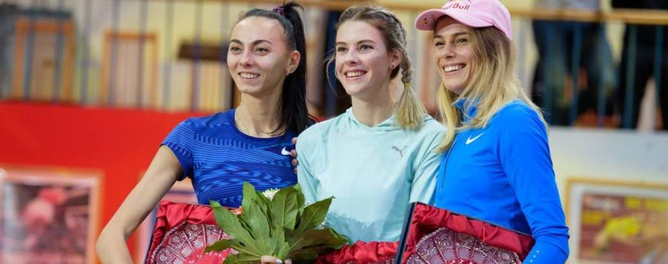 Украинские легкоатлетки заполонили пьедестал почета на турнире в Германии