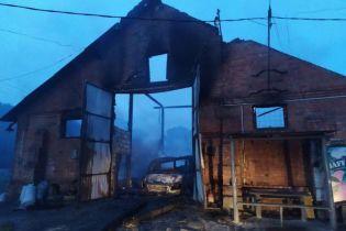 У Харківській області палав цех із виготовлення олії: все вигоріло вщент