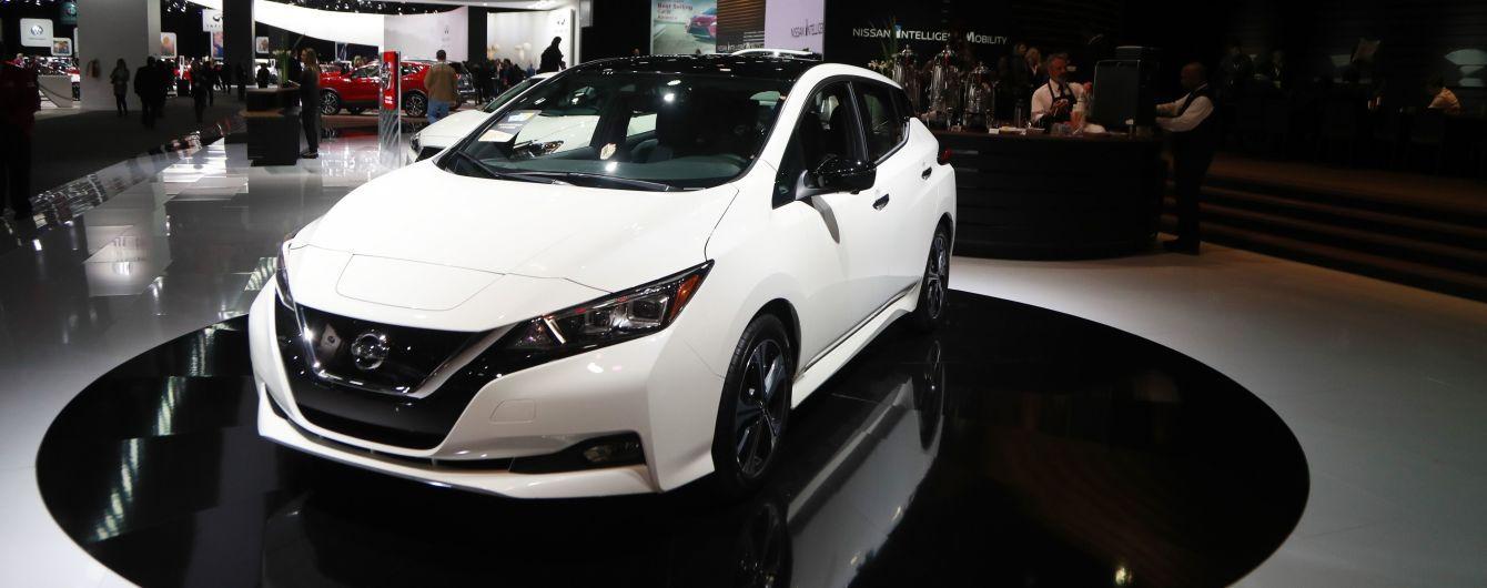 Nissan спустив з конвеєра півмільйонний електрокар, який є бестселером українського ринку