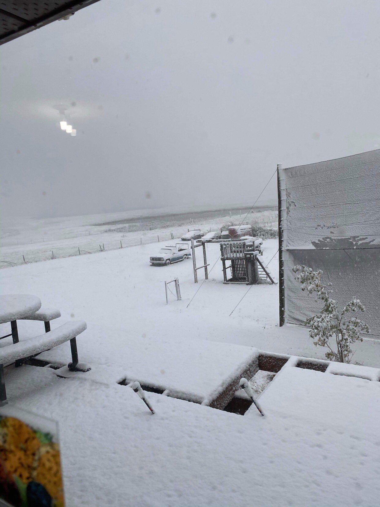 Канада, сніг