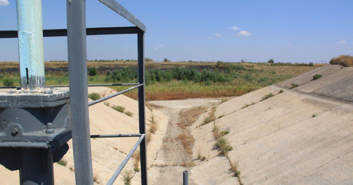 В анексованому Криму пересохли ще два водосховища